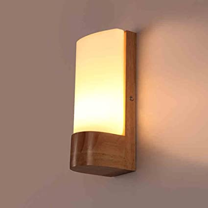 Mingteng LED,Solid Wood,Wall Lamp,Simple And Creative,Japanese Style