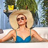 CleverSpa Shades 800 Liter 70 inch 4 Person