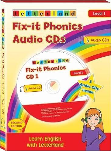 Holt, L: Fix-it Phonics - Level 1 - Audio CD Pack 2nd Editi: Amazon.es: Holt, Lisa, Wendon, Lyn: Libros en idiomas extranjeros