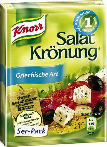 Knorr Salad Dressing Greek Art 5pc