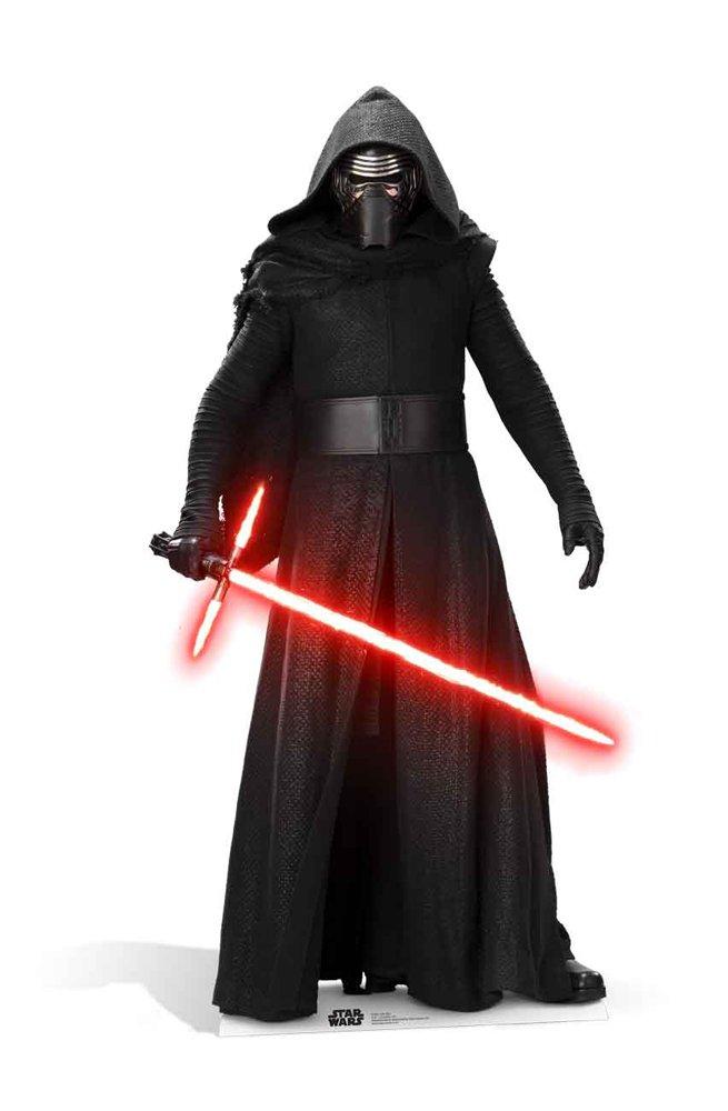Empireposter der Star Wars EP7 Kylo Ren Krieg der Empireposter Sterne Episode VII - Das Erwachen der Macht Pappaufsteller Pappfigur Standy ca. 184 cm 981933