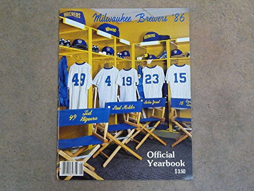 Yearbook Near Mint (MILWAUKEE BREWERS BASEBALL YEARBOOK - 1986 - NEAR MINT)