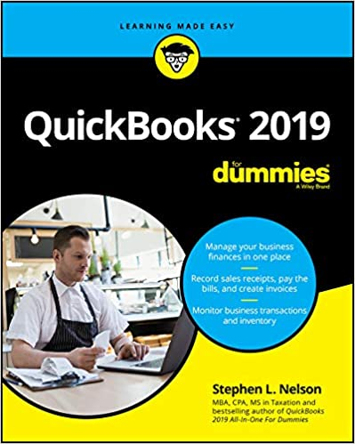 QuickBooks 2019 For Dummies (For Dummies (Computer/Tech)) 1st Edition by Stephen L. Nelson  PDF Download