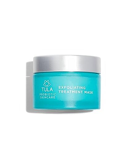 Tula cuidado de la piel máscara de doble fase Tratamiento Exfoliante con Vitamina E Hidratante/