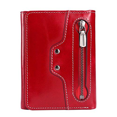 fba rosso cerato 1 Portafoglio per Cammello Ainimoer donna cammello cerato marrone A1113e A1gHwq