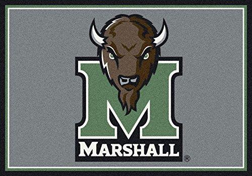 NCAA Team Spirit Door Mat - Marshall Thundering Herd ''M'', 56'' x 94'' by Millilken