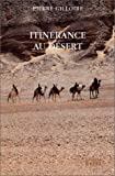 Itinérance au désert
