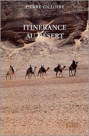 Livre Itinérance au désert epub, pdf