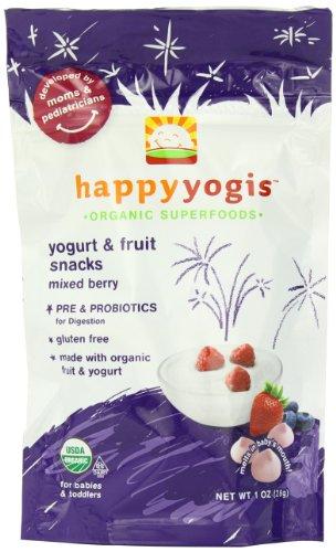 Happy yogis organiques yogourt