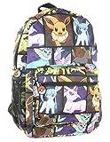 Pokemon Eevee Evolution Characters Backpack