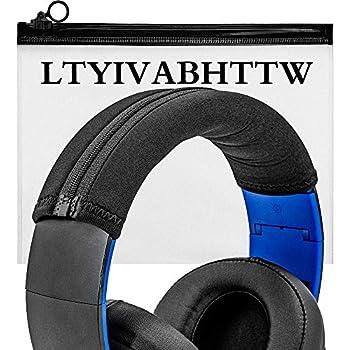 Headband Cover Compatible with PS3 Playstation Gold Wireless,Ear Force X12 X32 X42,HS50 HS60 HS70,Cloud II,Cloud Core,Cloud Alpha,Cloud Pro,MDR-V700,V500,V600,MDR-XD900,MDR-V900,SRH750DJ Headphones