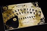 Wooden Black Ouija Board game & Planchette with detailed Instruction Ship from UK