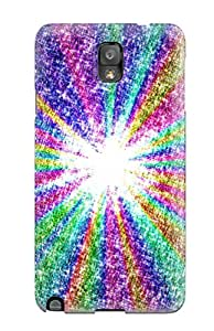 ZippyDoritEduard Galaxy Note 3 Hybrid Tpu Case Cover Silicon Bumper Pretty Rainbow Rays