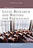 Legal Research and Writing for Paralegals 7e, Deborah E. Bouchoux, 1454831324