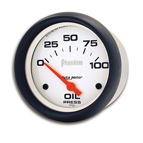 Auto Meter 5827 Phantom Electric Oil Pressure Gauge