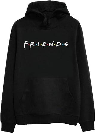 Friends Women/'s Text Logo Hoodie
