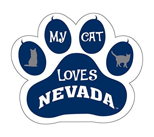 University Magnet Pack (NEVADA WOLFPACK CAT PAW MAGNET-MY CAT LOVES NEVADA MAGNET)