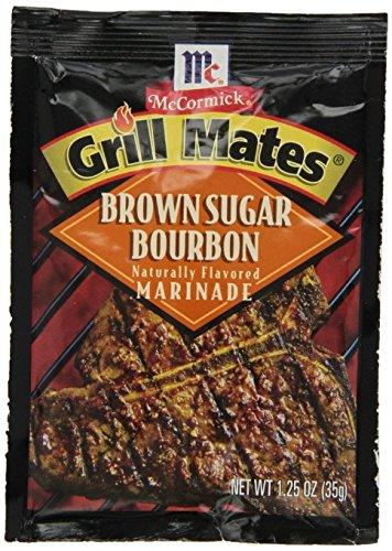 McCormick Grill Mate BROWN SUGAR BOURBON Marinade 1.25oz (5 Packets) ()