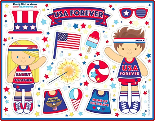 USA Forever All-American Family Magnetic Play Sets & Puzzles Collection by USA Forever (Image #1)