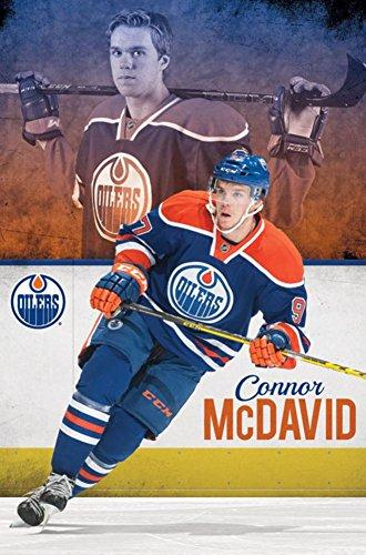 Trends International Edmonton Oilers Conner McDavid Wall Poster