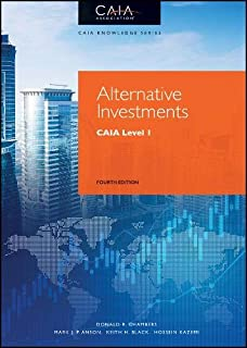 Alternative Investments: CAIA Level I (Wiley Finance): Amazon.es ...