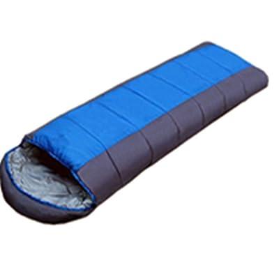 SHUIDAI Sac de couchage , blue with grey , (185+30) *75