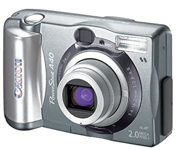 Amazon.com : Canon PowerShot A40 2MP Digital Camera w/ 3x Optical ...