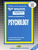 Psychology, Rudman, Jack, 0837384524