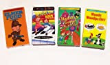 Classic Cartoons Collection #6 (4Pk): Woody Woodpecker; Elmer Fudd; Hansel & Gretel; Raggedy Ann and Friends