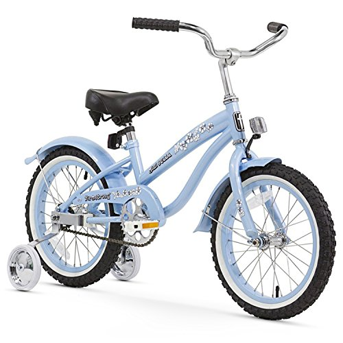 Firmstrong Girl's Bella Bicycle with Training Wheels (16-Inch)
