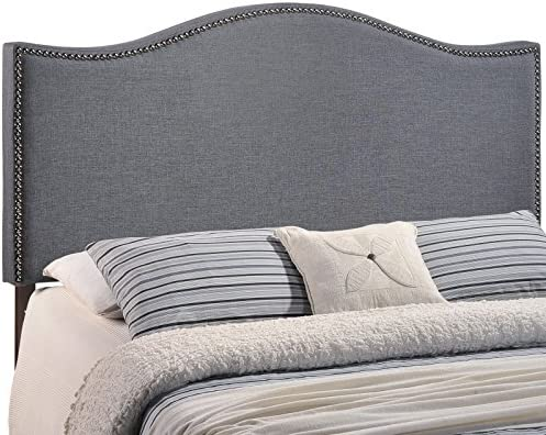 Modway Curl Linen Fabric Upholstered Queen Headboard