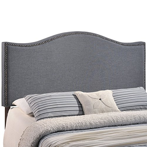 Used, Modway Curl Upholstered Linen Fabric Queen Headboard for sale  Delivered anywhere in USA