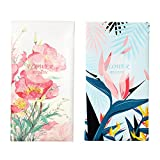 2PCS Portable Eyeglass Pouch Sunglass Goggles Case for Woman with Cleaning Cloth
