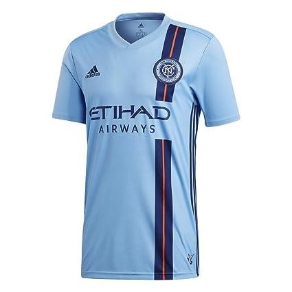 ce92b07de4151 adidas - New York City 1ª Camiseta 19 Hombre Color  Celeste Talla  2XL
