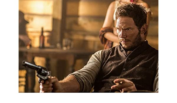 b9a977d5 Chris Pratt with gun The Magnificent Seven 7 24x36 Poster at Amazon's  Entertainment Collectibles Store