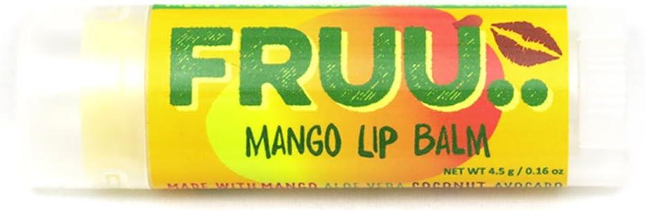 Fruu Organic Mango lip balm