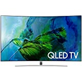 Samsung 163 cm ( 65 Inches ) 65Q8C Ultra HD 4K Curved LED Smart TV With Wi-fi Direct.