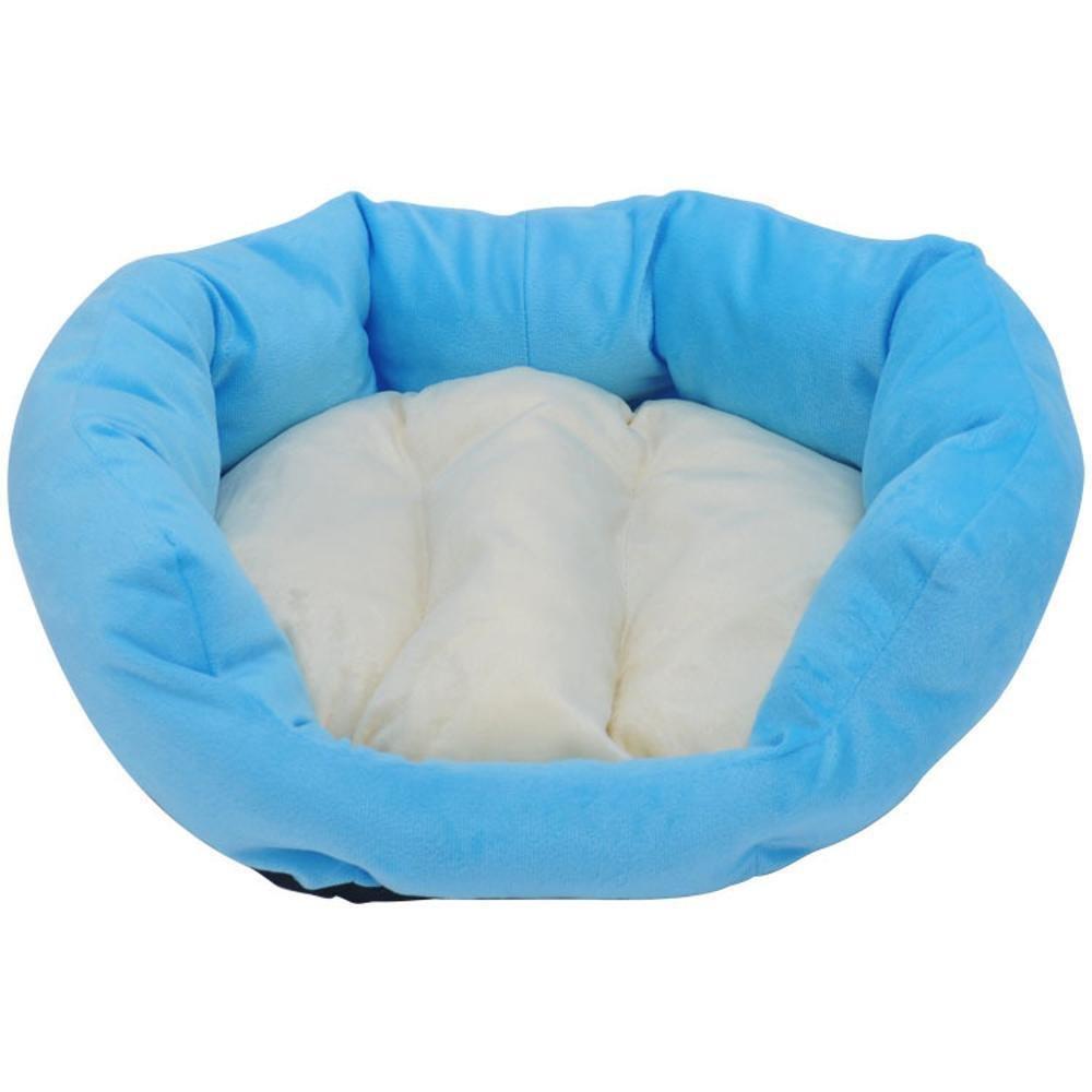 B 433514cmBiuTeFang Pet Bolster Dog Bed Comfort Pet nest cat Soft wo Kennel Mat mat