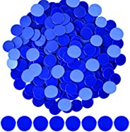 Coopay 300 Pieces 10 Colors Plastic Learning Counters Disks Bingo Chip Counting Discs Markers for Math Practic