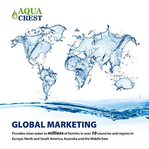 AQUACREST FM-15RA Faucet Water Filter, Compatible Culligan Filter, Culligan FM-15A White