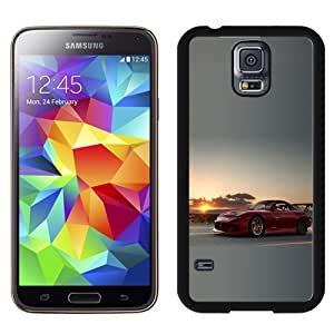 NEW Unique Custom Designed Samsung Galaxy S5 I9600 G900a G900v G900p G900t G900w Phone Case With Mazda RX7 Sunset_Black Phone Case