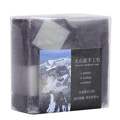 加速するビートライナーディープクリーニング 火山泥 ハンドメイドグリース 保湿石鹸用 100 G 手作り石鹸