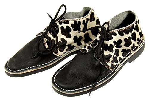 Brother Vellies Erongo Calf Hair Leopard Boots Size 4 New by Brother Vellies