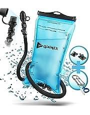 Luamex® Trinkblase 2L - Wasserblase – BPA frei - Trinksystem mit On/Off Ventil, isoliertem Trinkschlauch - zum Radfahren, Wandern, Camping, Outdoor