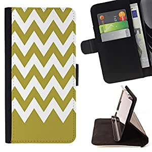 King Case - FOR Apple Iphone 4 / 4S - Time walking slowly - Prima caja de la PU billetera de cuero con ranuras para tarjetas, efectivo Compartimiento desmontable y correa para la mu?eca