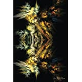 Journal Your Life's Journey: Fractal Black, Lined Journal, 6 x 9, 100 Pages