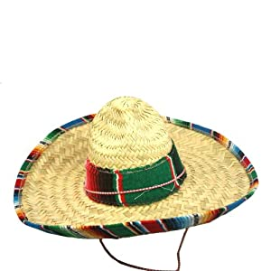 US Toy Child's Mexican Sombrero Costume - 51ZPPRKUnVL - US Toy Child's Mexican Sombrero Costume