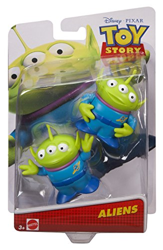 Disney/Pixar Toy Story Two Aliens Figures, 2.5 inch