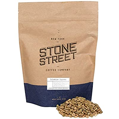 Green Unroasted Colombian Supremo Raw Coffee Beans