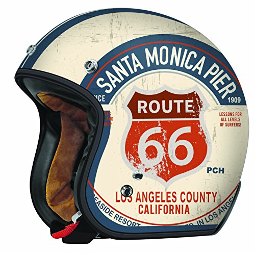 TORC (T50 Route 66) 3/4 Motorcycle Helmet with Graphic (PCH)